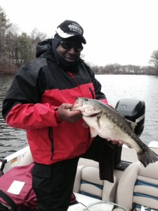 Earl Howard with a 6.34 lb largmouth on the Nashua River/Groton team Tournament 2014